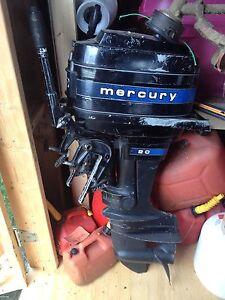 1979 Mercury 20hp outboard