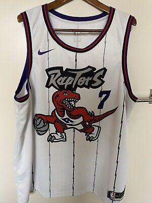 Toronto Raptors Hardwood Classic Retro NBA Basketball Jersey Kyle Lowry 3xl 60