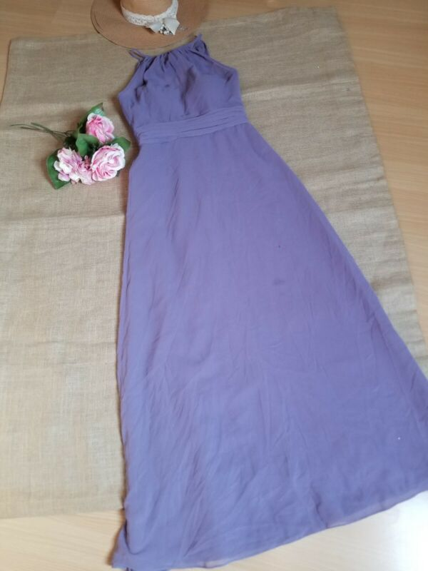 $500 Bill Levkoff Narrow neck Maxi Dress Sz 2