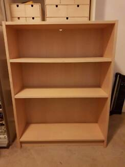Book shelf, study desk; bedside drawers; chair in great condition