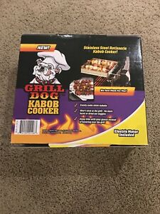 Grill Dog Kabob Cooker for BBQ