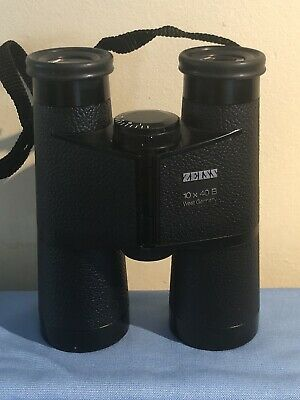 Zeiss 10x40 B West German Binoculars