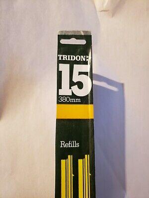 """15"""" Windshield Wiper Blade Refills 1 pair Tridon 83-15R NOS"""
