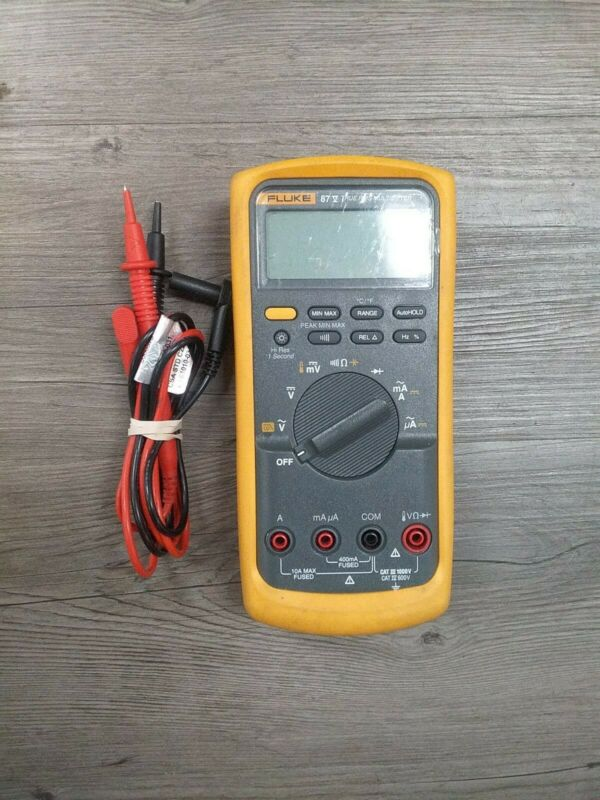 Fluke 87V Industrial True-rms Multimeter FREE SHIPPING GREAT Condition