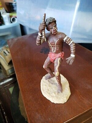 Australian Aborigines Figure. 100% Hand Made