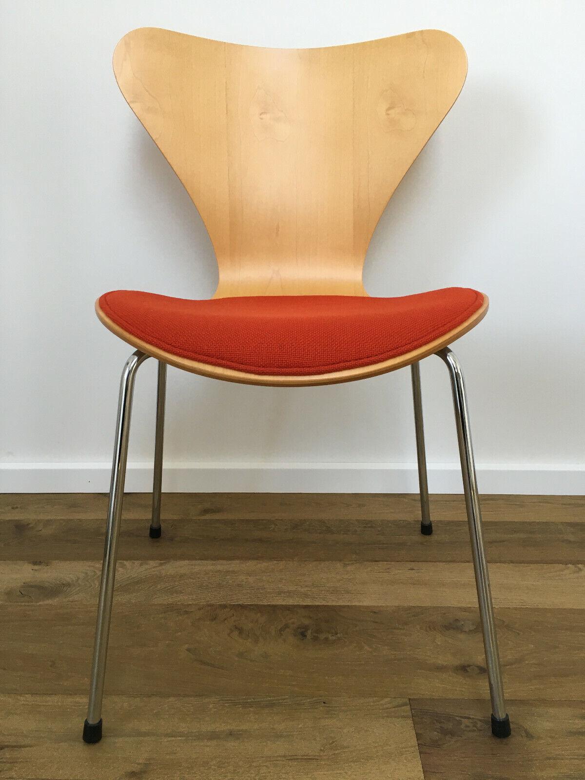 ? Fritz Hansen Stuhl 3107 - Arne Jacobsen - Ahorn/Maple - Superzustand 1/6