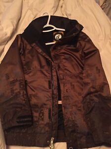 Women's small volcom winter jacket