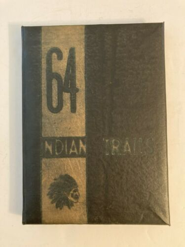1964 Indianola Mississippi High School Yearbook Indian Trails