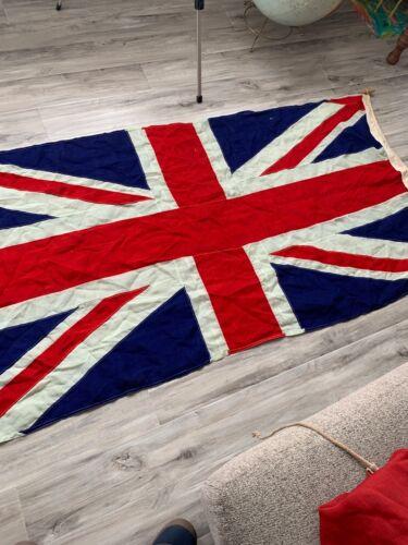 WW2 British Union Jack Sewed and Layered Construction