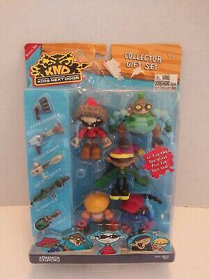 Codename Kids Next Door Arctic Collector Gift Set Cartoon Network KND NOS HTF