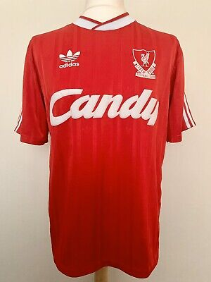 Liverpool FC 1988-1989 home football shirt jersey maillot camiseta trikot maglia