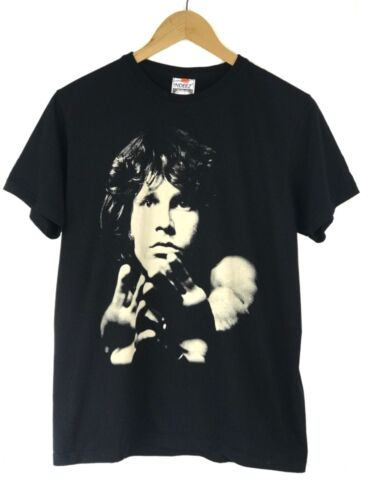INDEEZ Unisex- Size MEDIUM- Black Cotton Jim Morrison The Doors Graphic T Shirt