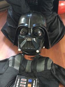 Costume Dark Vador enfant, masque avec voix électronique