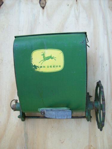 VINTAGE JOHN DEERE Planter Seeder Fertilizer Box Hopper #6