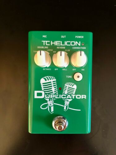 TC Helicon Duplicator with Doubling, Reverb and Pitch Correction