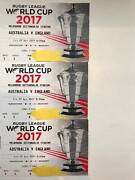 Rugby League World Cup 2017 Australia v England x3 tickets Melbourne CBD Melbourne City Preview