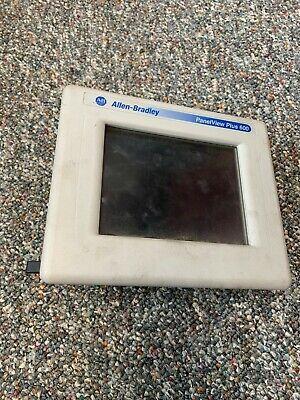 Allen Bradley Panelview Plus 600 2711p-t6c20a Ser D