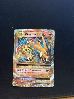 Pokemon XY Flashfire Ultra Rare Mega M Charizard EX 13/106
