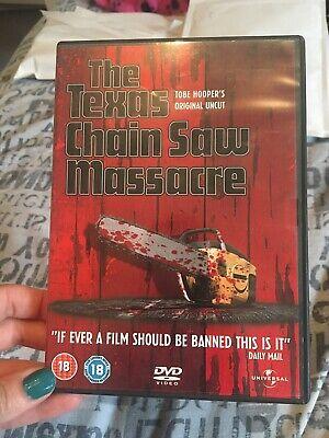 The Texas Chainsaw Massacre DVD (2006) Marilyn Burns, Hooper (DIR) cert 18