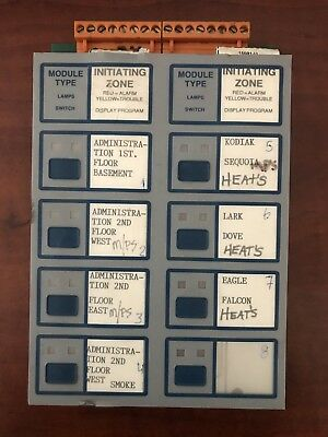 Fire Alarm Notifier Iz-8 Signal System Control Unit