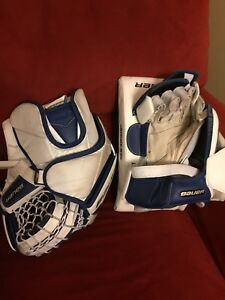 Glove and blocker