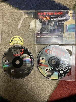 Resident Evil 3: Nemesis & Dino Crisis Demo Disc PlayStation 1 Authentic