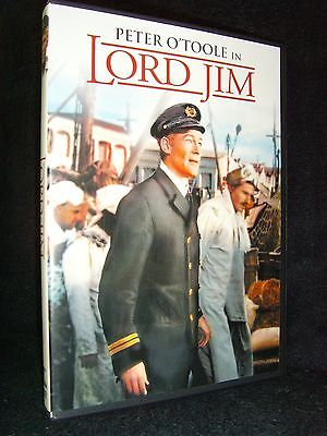 Lord Jim (DVD, 2014) Mint Disc! No Scratches!•Peter O'Toole•Eli Wallach
