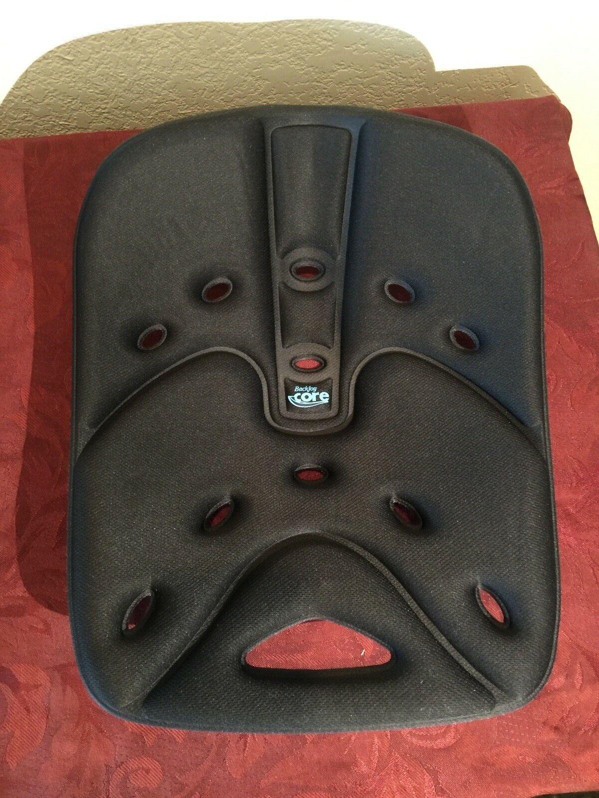 New BackJoy Core Plus Memory Foam Back Pain Relief Lumbar Su