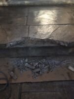 All concrete repairs