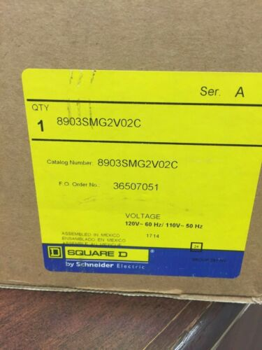 Square D 8903SMG2V02C Lighting Contactor ** New In Box**