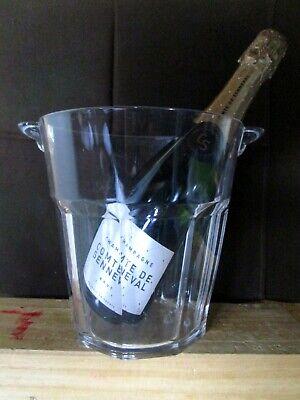 Seau à champagne plexiglas forme harcour glace vin fete champagner eimer bucket
