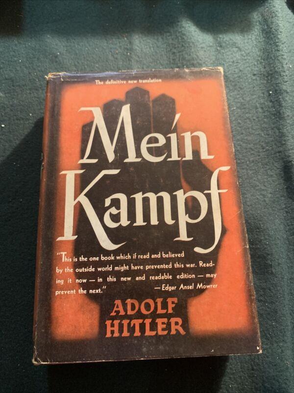 Mein Kampf  1943 English Translation Manheim  Annotated RARE!