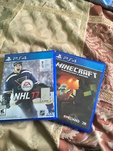 NHL 17 and Minecraft