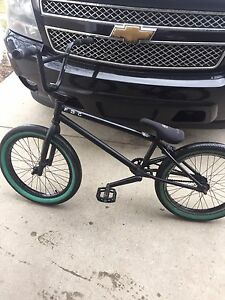 Fit bmx 500 with custom cranks and sprocket