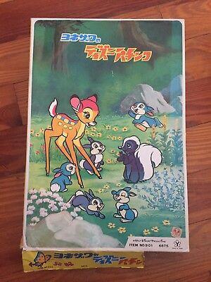 Rare Disney Bambi Japanese Pachinko Machine Game Vintage