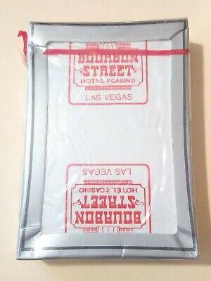 BOURBON STREET CASINO LAS VEGAS, NV. LOGO CARD DECK GREAT FOR VINTAGE COLLECTION