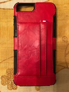 Iphone Case Wallet In Red