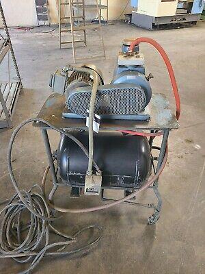 Ulvac Vacuum Pump W Tank Cart