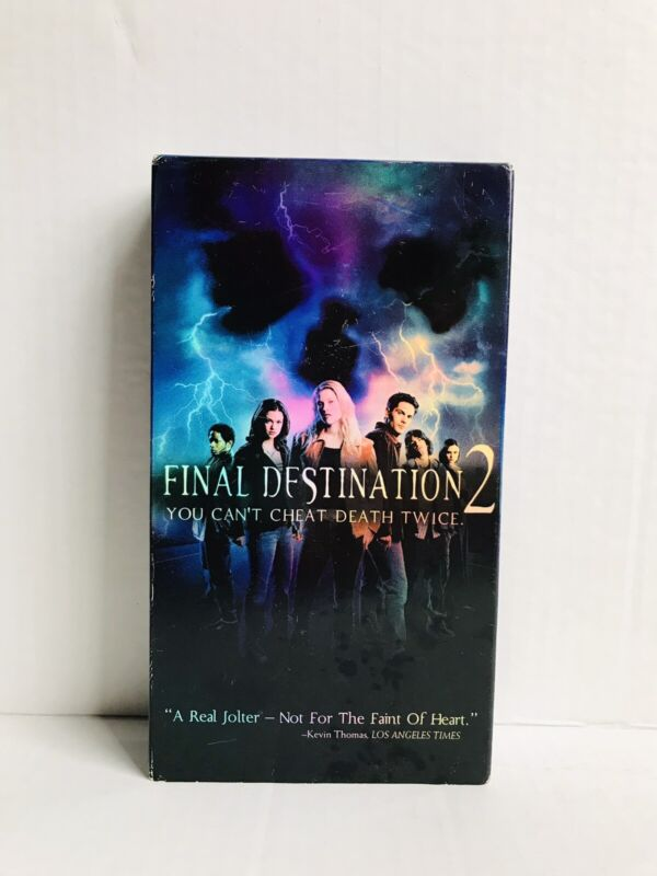 Final Destination 2 (VHS, 2003) - TESTED WORKS