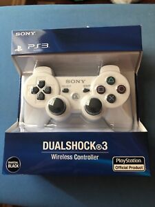BRAND NEW WHITE SONY PS3 CONTROLLER!