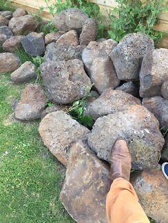 Rocks. Landscape. Mentone. Set of 10