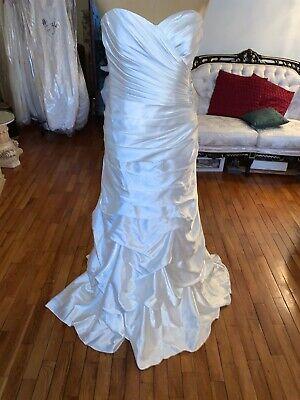New Davids Bridal wedding dress size 12