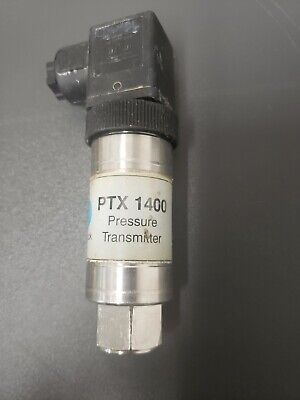 Druck Ptx1400 Pressure Transmitter 400 Bar 4-20ma 9.28 Vdc