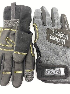 Mechanix Wear Gloves- Thinsulate- L- The Original Fleece-wind Resistant -new