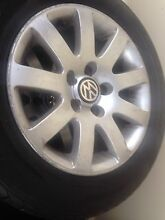 15inch rims & tyres size 205/60/15 set of 4 of VW Passat 2003 Liverpool Liverpool Area Preview