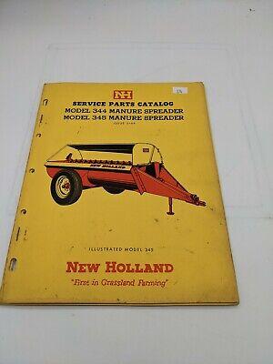 New Holland Service Parts Catalog Model 344 345 Manure Spreader