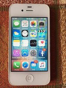 White iPhone 4 with rogers