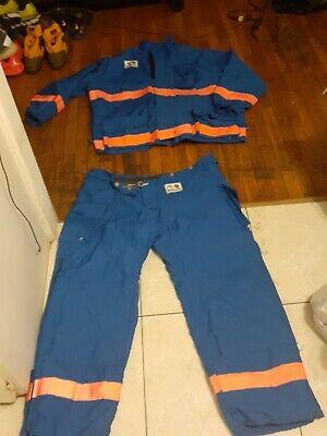 Morning Pride Fire Gear Turnout Saftey Jacket Pants Sz 50 3x Pants 50 X 30