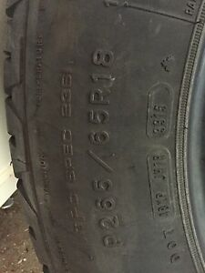 265/65R18 tires