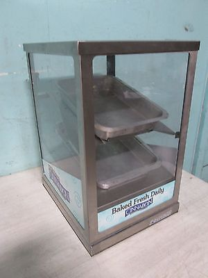 Round-up H.d. Commercial Lighted Bakery Counter-top Merchandiserdisplay Case